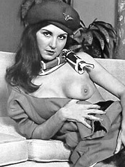 Nude vintage girls hairy hippie